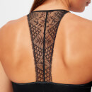Pepper & Mayne Women's Margot Lace Bra - Black