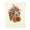 Natural History Museum Cage Of Flowers Art Print
