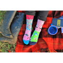 United Oddsocks Women's Go Flamingo Socks Gift Set