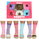 United Oddsocks Women's Donut Socks Gift Box