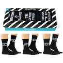 Cockney Spaniel Men's Office Socks Gift Box