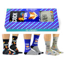 Cockney Spaniel Men's Novelty Socks Gift Box