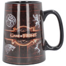 Game of Thrones Ceramic Rustic Sigil Tankard
