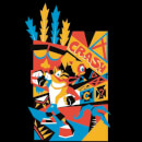 Crash Bandicoot Geo Men's T-Shirt - Black