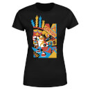 Crash Bandicoot Geo Women's T-Shirt - Black