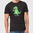 Tea Rex Men's T-Shirt - Black