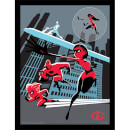 Incredibles 2 (To Action) Framed 30 x 40cm Print