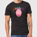 Rainbow George Club Men's T-Shirt - Black