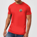 T-Shirt Homme Zippy Poche Rainbow - Rouge