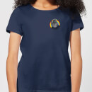 Rainbow Bungle Pocket Women's T-Shirt - Navy