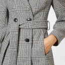 Whistles Women's Penelope Belted Check Coat - Multi