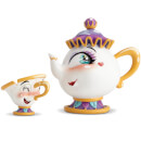 Miss Mindy Mrs. Potts and Chip Figurine