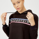 The Original Cropped Hoodie - Fekete - XS