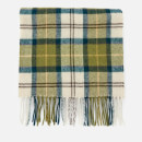 Barbour Men's Tartan Lambswool Scarf - Ancient