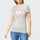 Guess Women's Short Sleeve Original T-Shirt - Grey