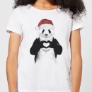 Balazs Solti Santa Bear Women's T-Shirt - White