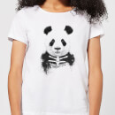 Skull Panda Women's T-Shirt - White