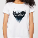 Balazs Solti Take A Walk On The Wild Side Women's T-Shirt - White