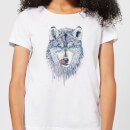 Wolf Eyes Women's T-Shirt - White
