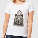 Native Bear Women's T-Shirt - White