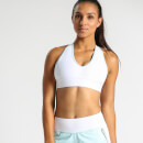 IdealFit Halter Bra with Band - White
