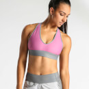 IdealFit Halter Bra with Band - Mauve