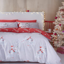Catherine Lansfield Christmas Unicorn Duvet Set
