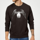 Venom Chest Emblem Sweatshirt - Black