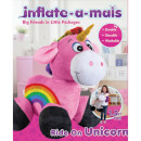 Inflate-A-Mals - 1.5ft Ride-On Unicorn