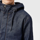 A.P.C. Men's Michigan Parka - Indigo