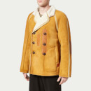 Maison Margiela Men's Sheepskin Replica Coat - Biscuit