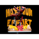 Figurine Deadpool Maximum Effort MAX Diorama Q-Fig Marvel