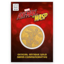 Marvel's Ant-Man and the Wasp Collector's Limited Edition Coin: Antique Gold - Zavvi Exclusive (Limited to 1000)