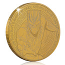 Marvel's Black Panther Collector's Limited Edition Coin: Antique Gold - Zavvi Exclusive (Limited to 1000)