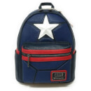 Mini Sac à Dos Loungefly Marvel Captain America Cosplay