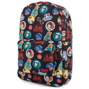 Loungefly Stranger Things Sticker Print Backpack