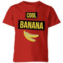 My Little Rascal Cool Banana Kids' T-Shirt - Red