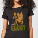 Avengers Groot Women's T-Shirt - Black