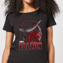 Avengers Falcon Women's T-Shirt - Black