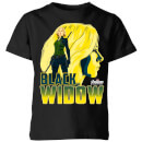 T-Shirt Enfant Black Widow Avengers - Noir