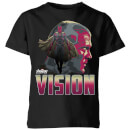 Avengers Vision Kids' T-Shirt - Black