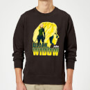 Avengers Black Widow Sweatshirt - Black