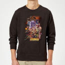 Avengers Team Portrait Sweatshirt - Black