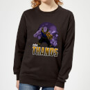 Avengers Thanos Women's Sweatshirt - Black