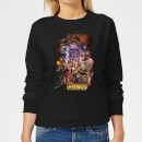 Avengers Team Portrait Women's Sweatshirt - Black