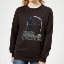 Avengers Black Panther Women's Sweatshirt - Black