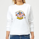 Bullseye Can't Beat A Bit Of Bully Women's Sweatshirt - White