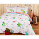 Happy Llamas Duvet Cover Set
