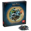 Harry Potter Collectors Round 500 Piece Puzzle - Magical Creatures