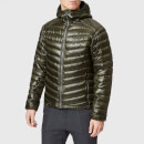 Peak Performance Men's Ice Down Hooded Jacket - Forest Night